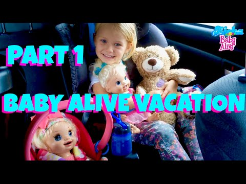 🏝  Vacation With Baby Alive In Hawaii  Part 1🌺Layla & Marisa Join Skye & Caden On Their Vacation!