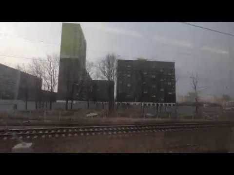 ЭД4М-0447, маршрут: Москва - Калуга-1 (экспресс) / Train ED4M-0447, Route: Moscow - Kaluga-1