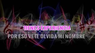 OLVIDAME Y PEGA LA VUELTA KARAOKE SALSA - JENNIFER LOPEZ FT MARC ANTHONY