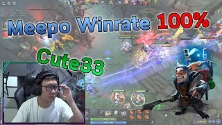 Dota 2 : Meepo by Cuteboy Winrate 100%