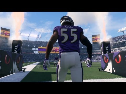 Madden NFL 18 - Baltimore Ravens vs Pittsburgh Steelers - Gameplay (HD) [1080p60FPS]
