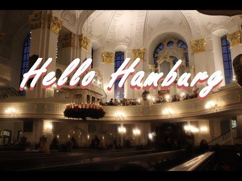Hello Hamburg - Day 1- Jungfernstieg, St. Michaelis