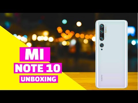 Xiaomi Mi Note 10 Unboxing handson Review Price First Impression First Look Hindi Available In Dubai