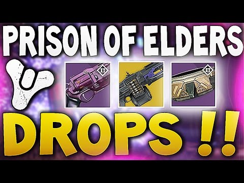 Destiny prison of elders exotic drops house of wolves