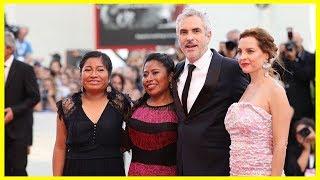 Alfonso Cuarón ganador del león de oro presentó en Venezia su película Roma