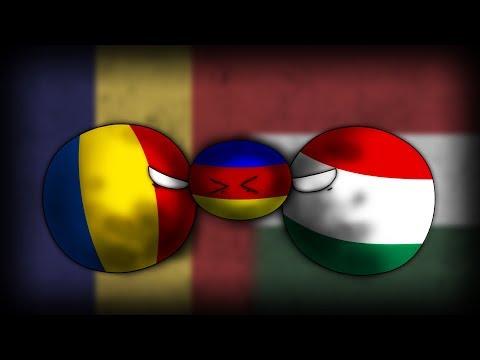 Alternate History: Hoi4 Timelapse (The 2nd Hungarian-Romanian war 1936)