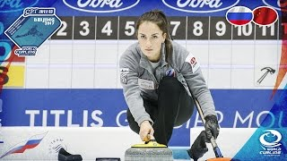 Russia v China - CPT World Women's Curling Championship 2017