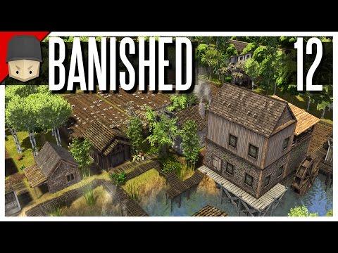 Banished - S2 Ep.12 : Cotton & Cloth Production! (Modded Banished)