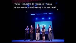 Reconocimientos a David Huerta y Víctor Soto