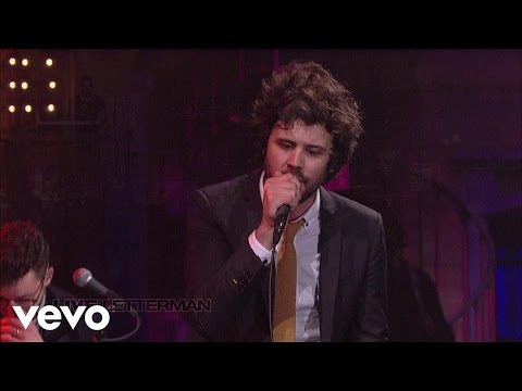 Passion Pit - Cry Like A Ghost (Live on Letterman)
