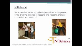 Progressive exercise programs to improve mobility, strength and balance