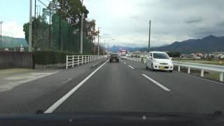 4K 愛媛県道193号 愛媛県松山市・森松→東温市・川内