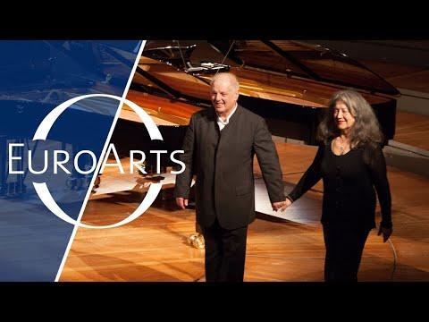 Martha Argerich and Daniel Barenboim