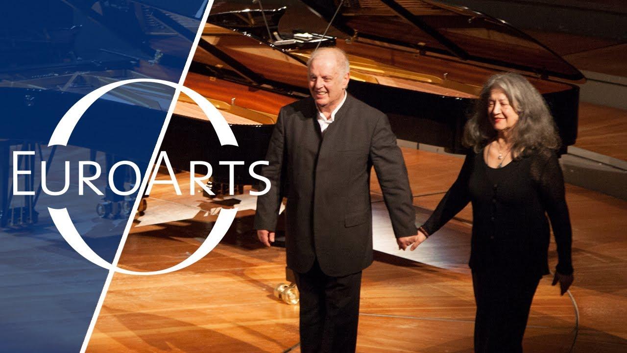 Martha Argerich and Daniel Barenboim  YouTube