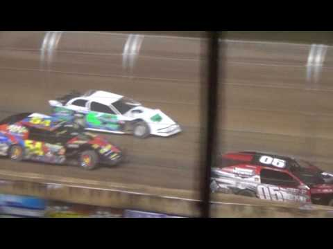 USMTS Modified Feature Highlights Luxemburg Speedway July 11 2017