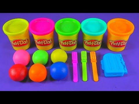 3 Glitter Ice Cream Making 6 Glitter Balls out of Play Doh Pj Masks, Paw Patrol, Kinder Joy