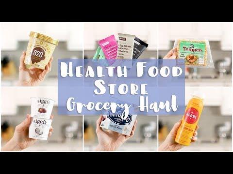 Health Food Store GROCERY HAUL | Beyond Meat, Siete, Vegan Halo Top, RXbars
