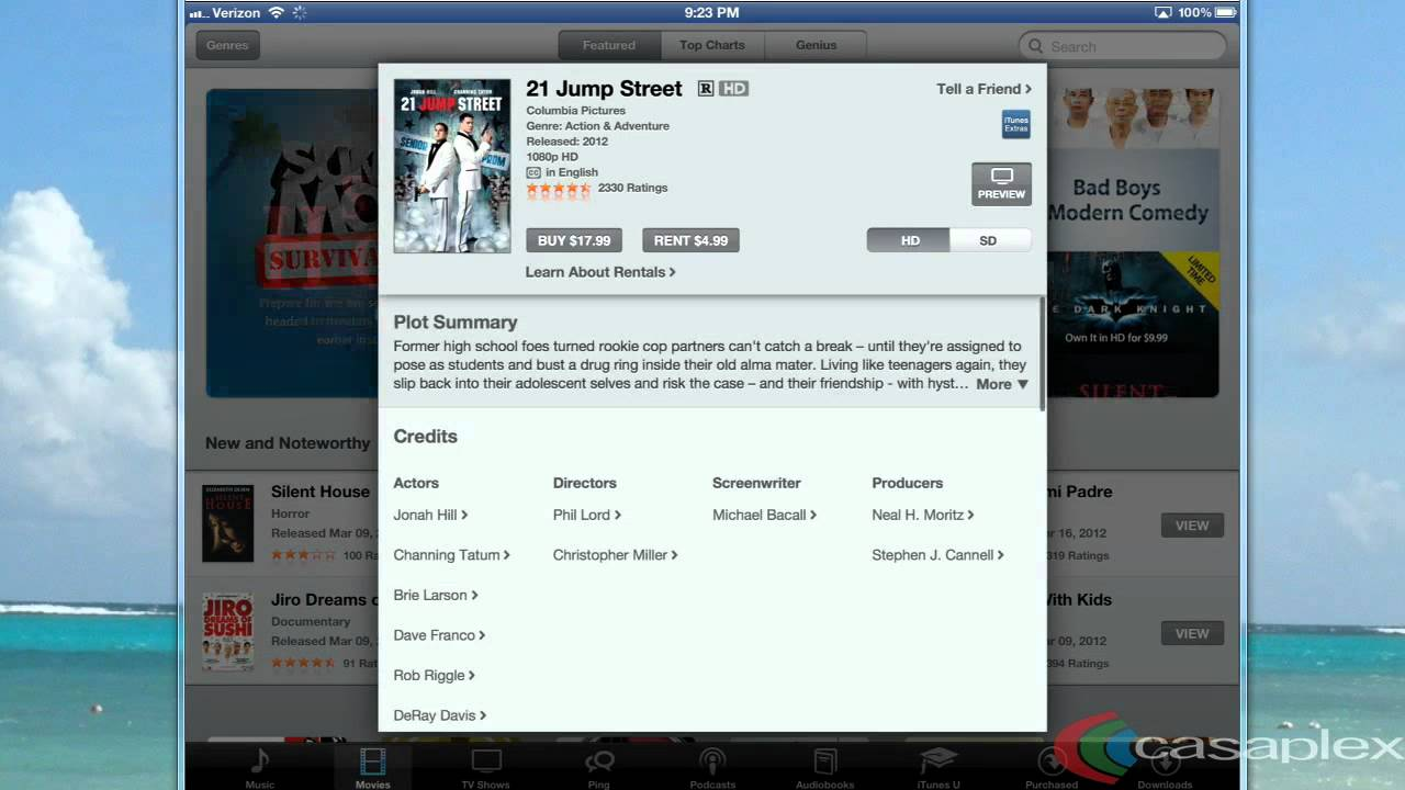 How to download a movie on your iPad using the iTunes app