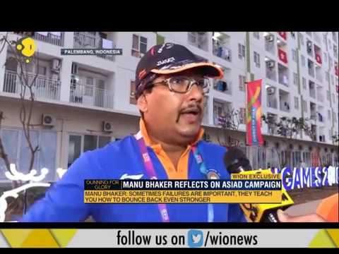 Exclusive: Jaspal Rana on Manu Bhaker's Asian Games journey