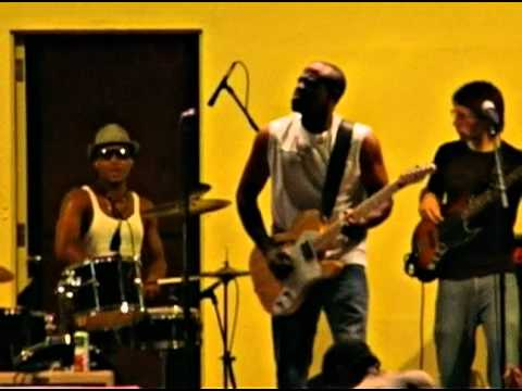 """Jay Blue's Band performing """"Slippin In"""" at the Hol..."""