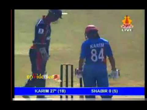 Afghanistan vs Nepal last part
