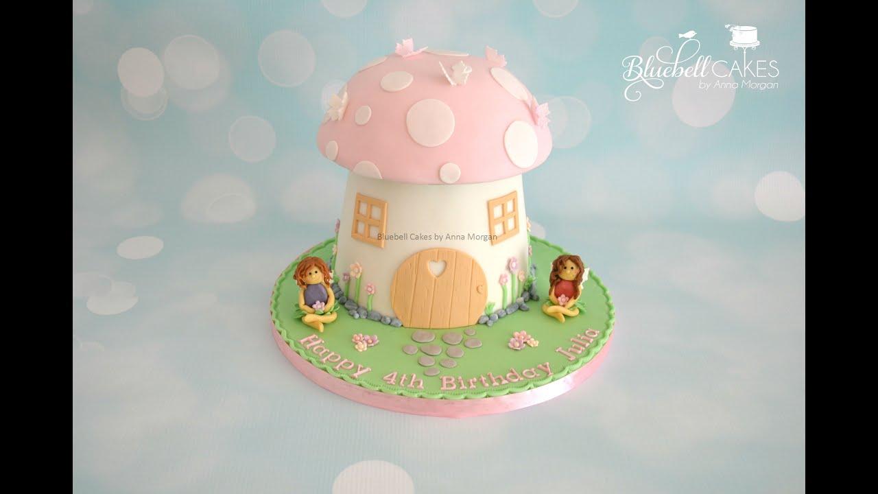 Toadstool Mushroom Cake Youtube