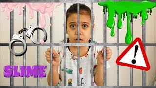 Odada Kilitli Kaldım Gizli Malzeme Slime | I was locked in the room