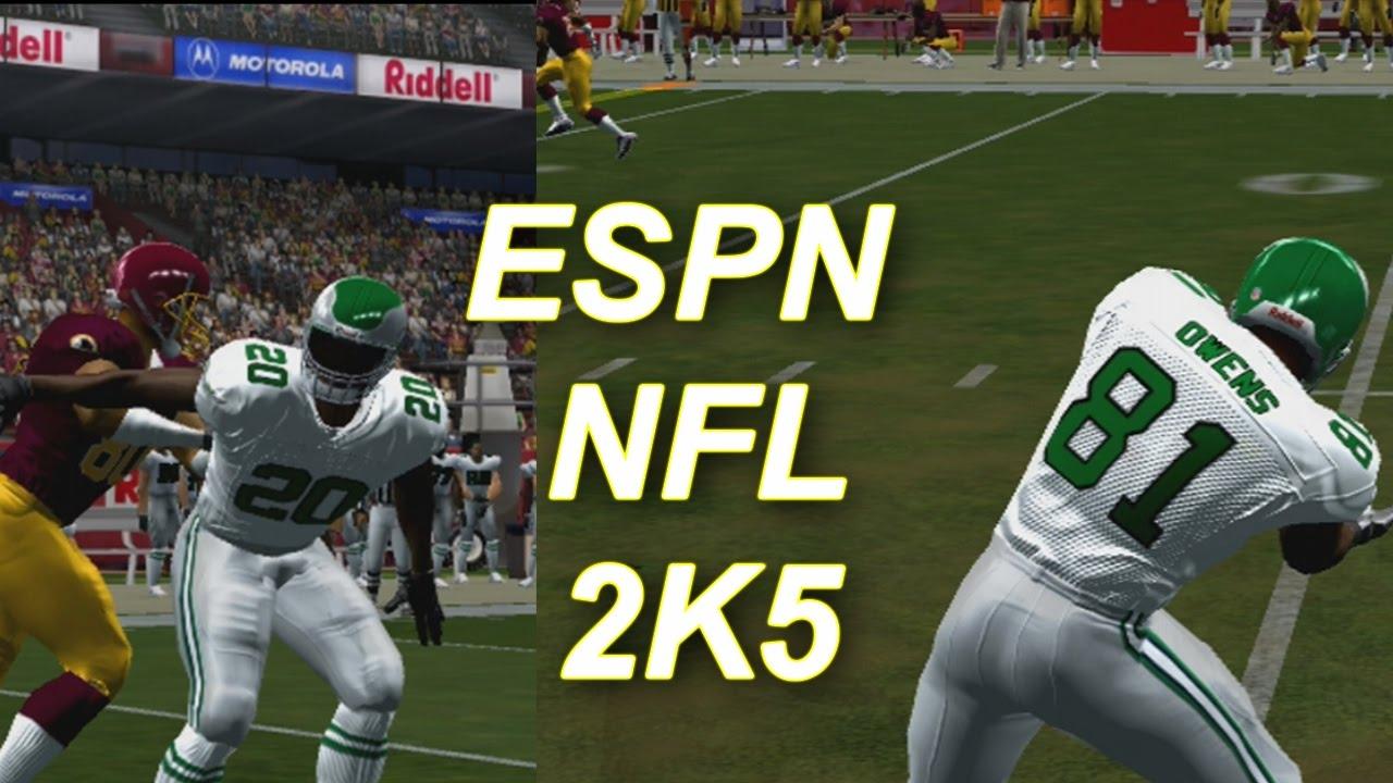 ESPN NFL 2K5 EAGLES VS REDSKINS :: THROWBACK GAME UPDATE  YouTube