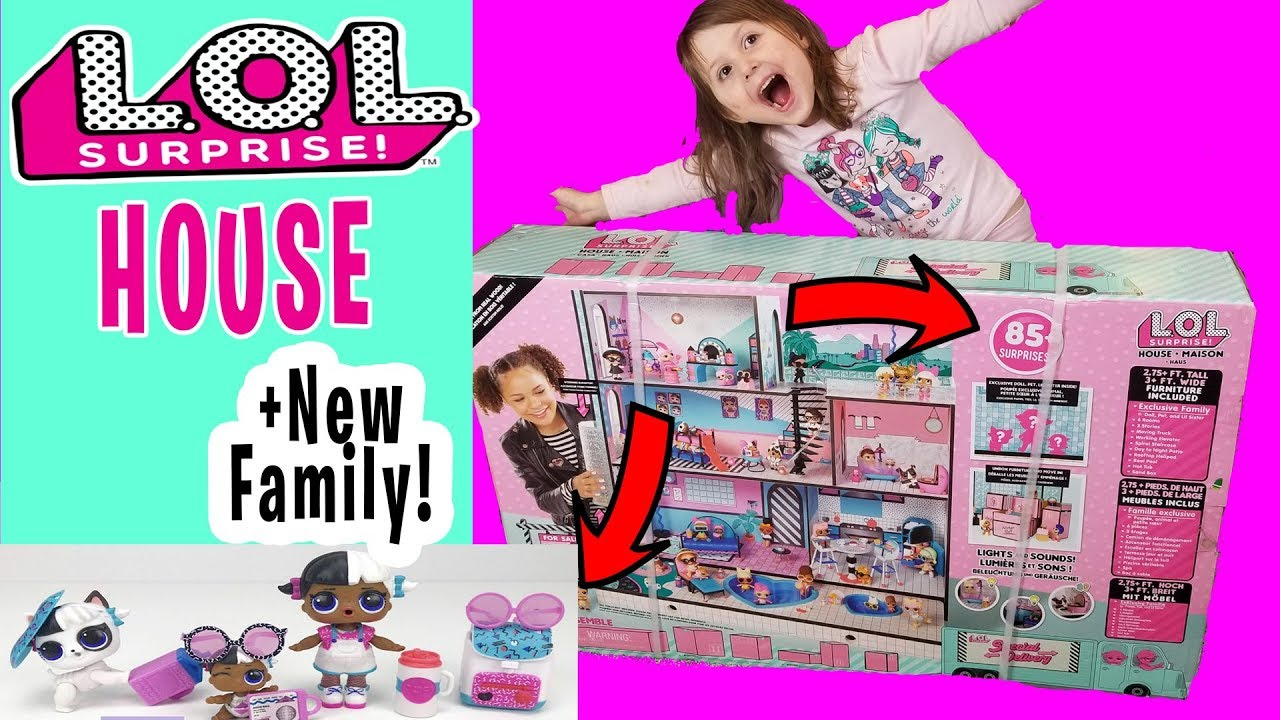 LOL Surprise Doll House Furniture Pink Lounge Pool Chair L.O.L Mansion MGA