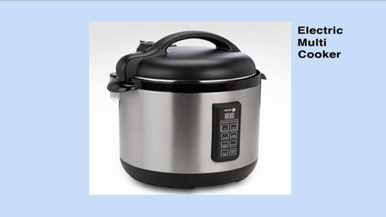 Fagor Portable Induction Cooktop And Electric Multi Cooker