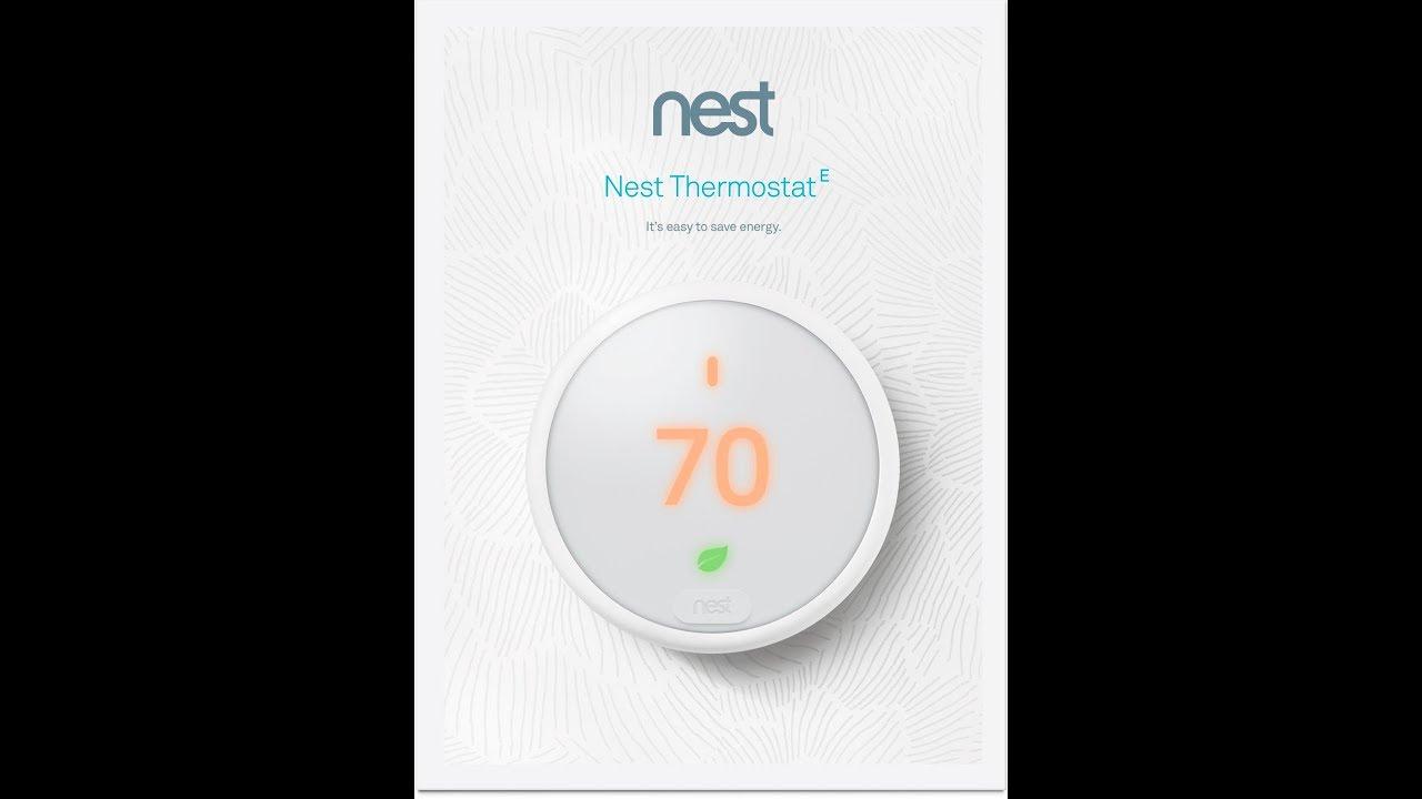 2wire Thermostat Wiring Nest