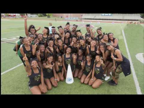 Cass Tech Cheerleaders Cheer Camp 2017