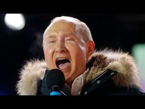Vladimir Putin dismisses UK spy attack allegations as he wins Russian election | ITV News