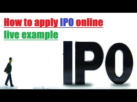 how to apply for ipo online | buy ipo online india