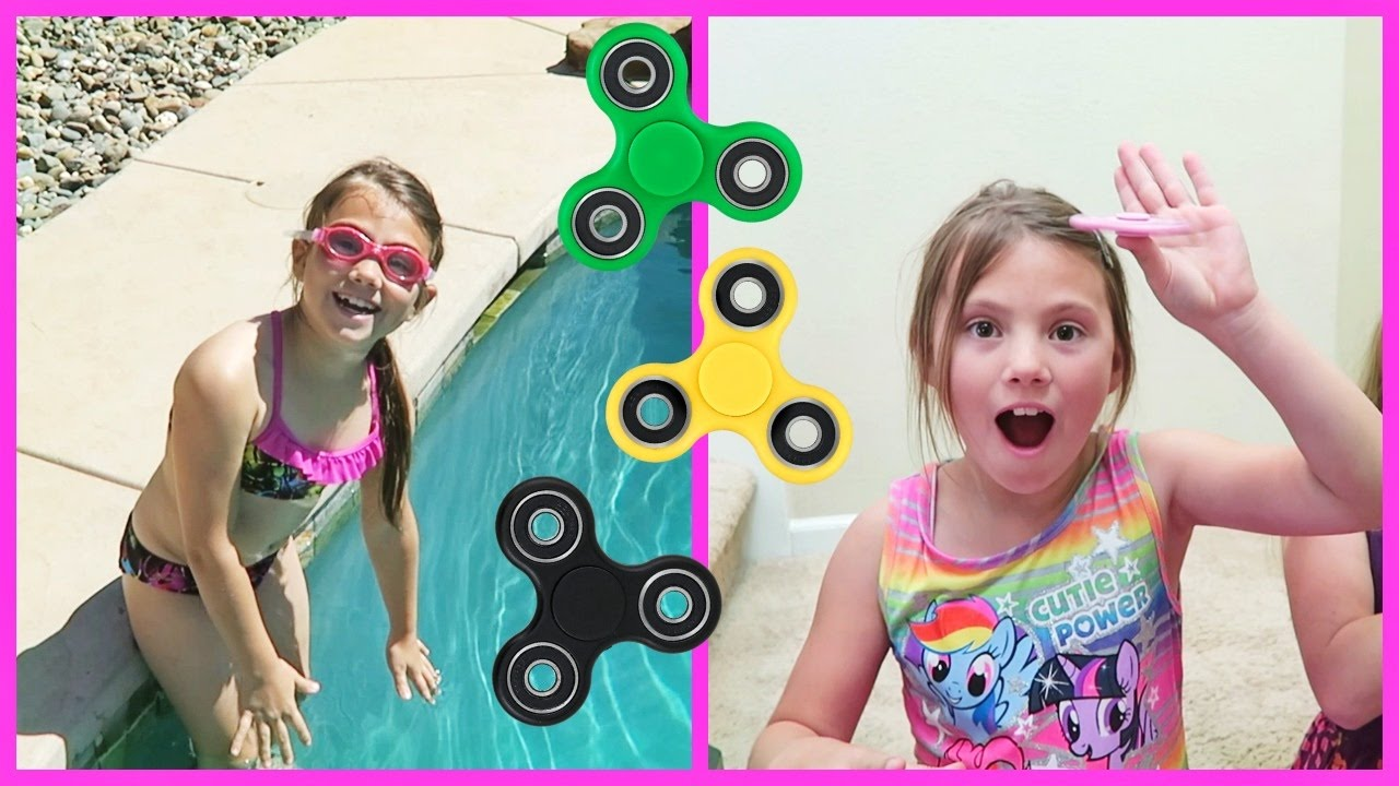 fun-with-fidget-spinners-and-pool-party-at-our-new-house