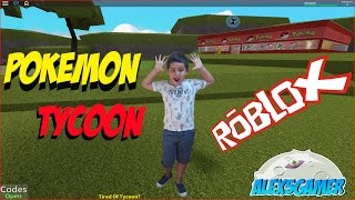Alex5gamer roblox pokemon tycoon Spanish video game kids