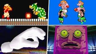 Evolution of First Boss Battles in Nintendo Games (1985 - 2019)