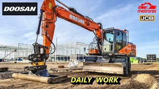 Doosan DX170 W 2013 with Rotot…