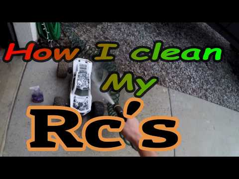 How I Clean My Rc's