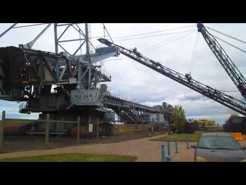 A Visit To A Museum Of Crazy BIG Equipment That Was Used To Mine Oilsands.