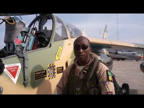60 Seconds with top Nigerian Air Force pilot, Hastruup