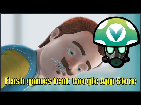 Flash games feat: Google App Store - Rev [Vinesauce]