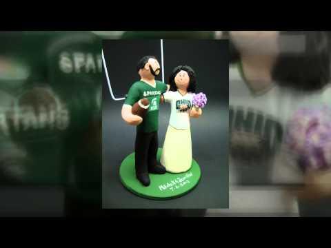 msu-spartans-groom-marries-ohio-u-bobcat-bride-wedding-cake-topper