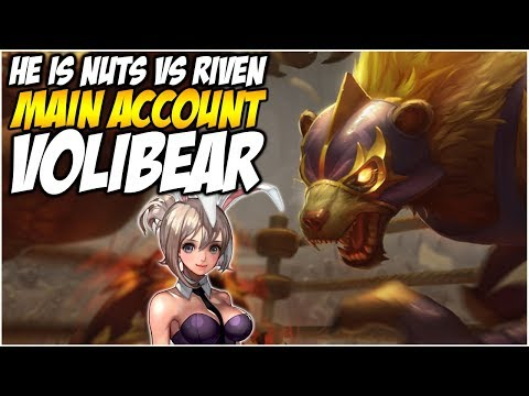 VOLIBEAR TOP IS NUTS, THE ULTIMATE RIVEN COUNTER - Climb to Master S8 | League of Legends