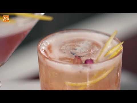 Bí Quyết Pha Chế Purple Love Cocktail Thơm Nồng Syrup Hoa Hồng | Học Pha Chế | Hướng Nghiệp Á Âu