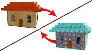HIRSIZ VS POLİS #95 - Tahta Evi Elmas Eve Dönüştürmek (Minecraft) Mp3