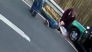 Poważne potrącenie rowerzystki w Czerwieńsku