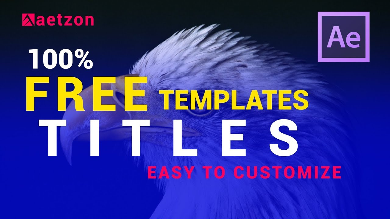 free after effects title templates download - after effects templates free  download title