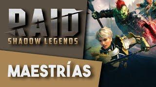 RAID: SHADOW LEGENDS | Hablamos de las MAESTRÍAS y más cositas!