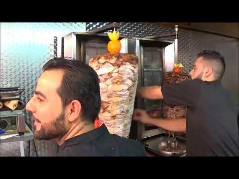 SYRIAN FOOD ( LE DAMAS )  STREET FOOD SLOUGH ENGLAND